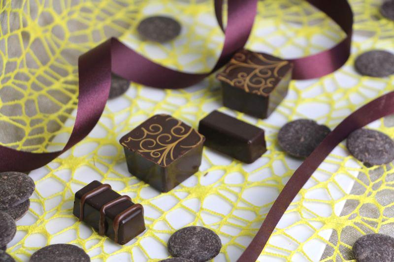 Pralinen Chocolat mit Transferfolie 2r