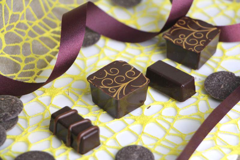 Pralinen Chocolat mit Transferfolie 3r