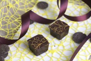Pralinen Chocolat mit Transferfolie r