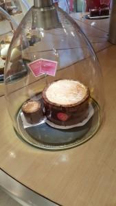 Charlotte chocolat vanille
