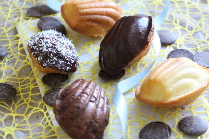 Madeleines au chocolat Gruppe 3