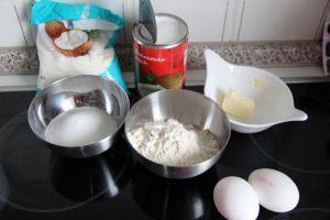 Zutaten Tarte noix de coco