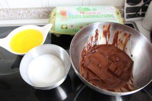 Zutaten marquise chocolat