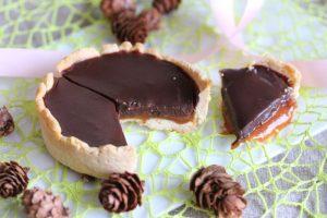 Tarte chocolat caramel