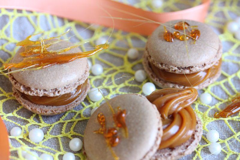 Macaron au caramel 11