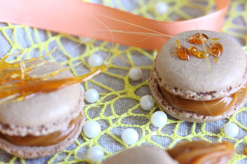 Macaron au caramel 12