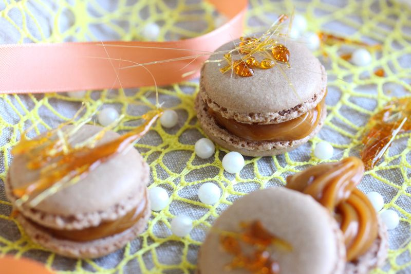 Macaron au caramel 16