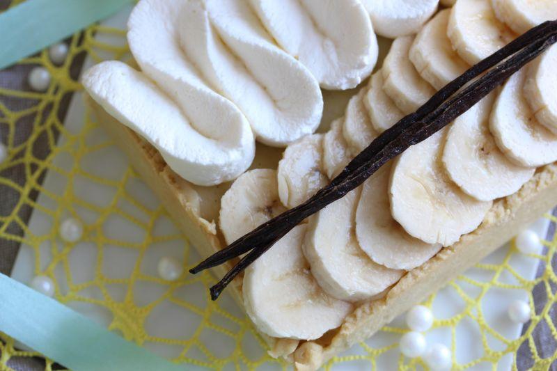 Tarte a la banane 5