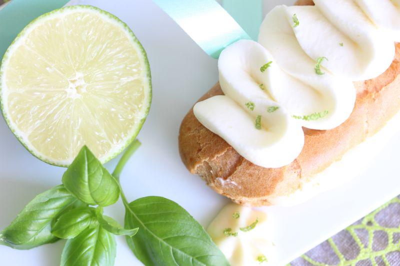 Eclair Citron Basilic 5
