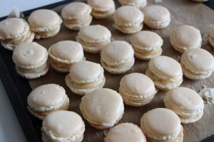Fertige Macaron Amaretto