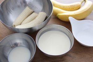 Zutaten Bananeneis
