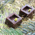 Praline a la mousse de pistache 5