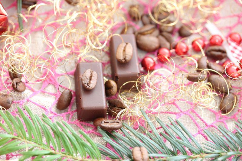 Pralinen Chocolat Café